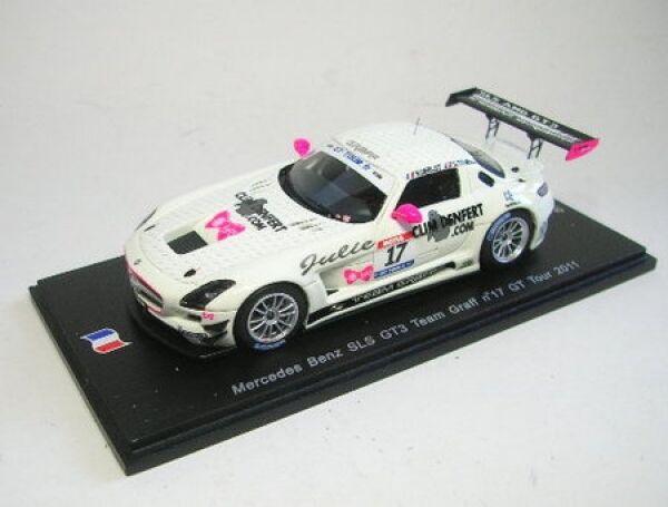 MERCEDES-BENZ sls gt3 No. 17 GT tour 2011