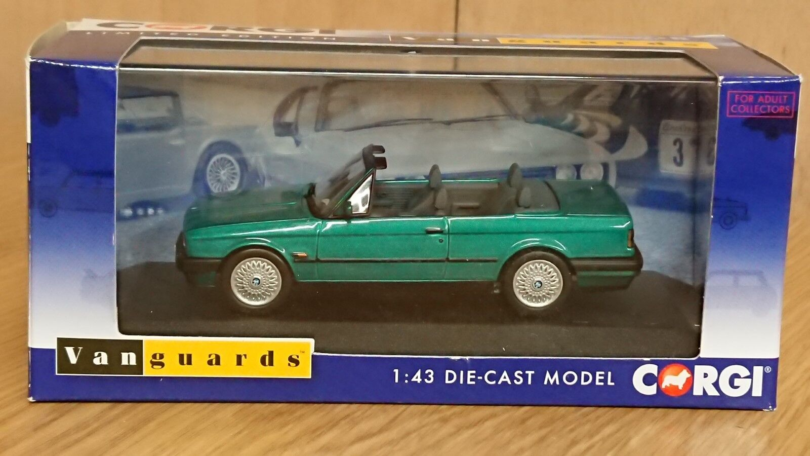 Corgi va13702 bmw 318i (e30) design cabrio grüne ltd bearbeiten.nein, 0003)