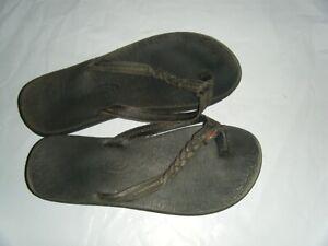 New Balance Float Slides Black Silver Sandals Flip Flop Shower Shoes Youth 4 5 6