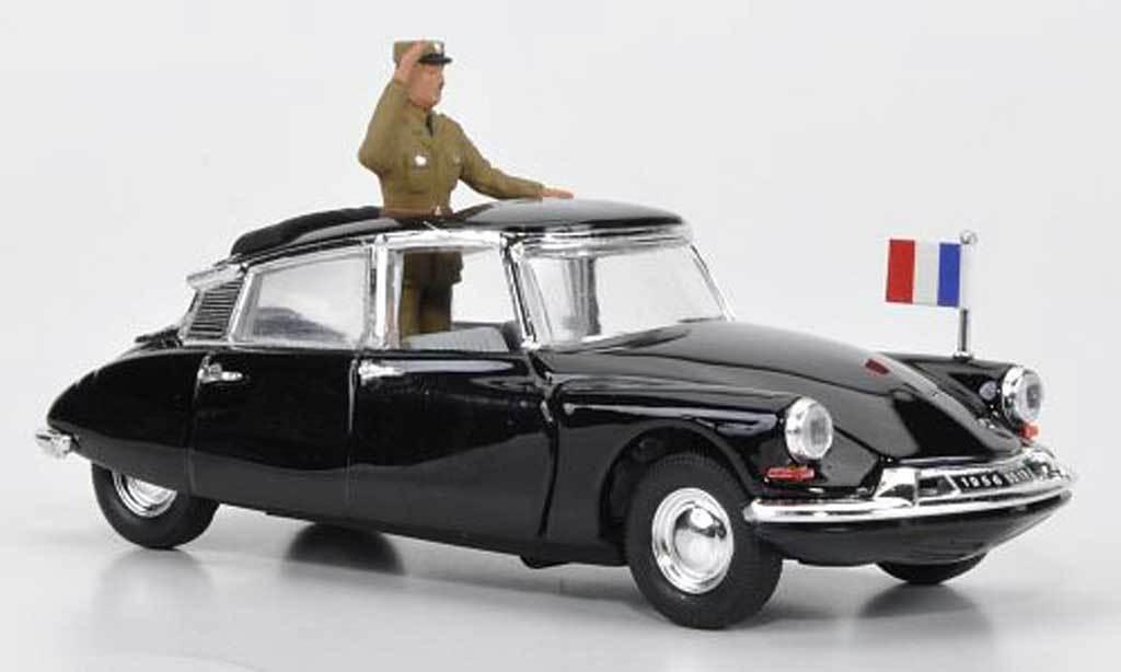 Rio 1 43 Made in  voiture  Die cast citroen ds19 General de Gaulle 1962 Art 114  design simple et généreux