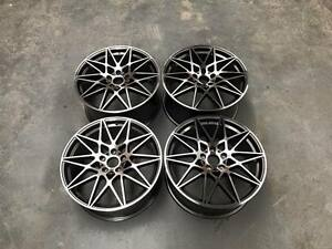 19-034-666M-M4-Competition-Style-Wheels-Gun-Metal-Machined-BMW-E90-E92-F10-F30-F32