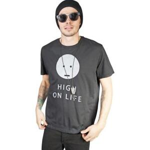 KILL-CITY-MENS-HIGH-ON-LIFE-VINTAGE-WASHED-SOFT-JERSEY-GRAPHIC-T-SHIRT