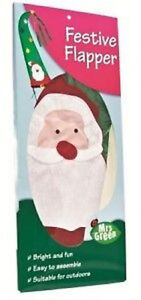 *NEW* Large Santa Christmas Flag - 1 metre Decorative Festive