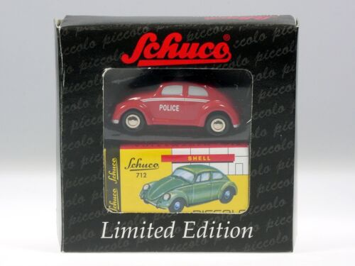 "Schuco Piccolo VW Käfer /""Police/"" Luxemburger Polizei # 50126009"