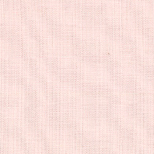 Pink Quilting Fabric Moda Fabric Bella Solids Baby Pink Sold Per 1//4 Metre