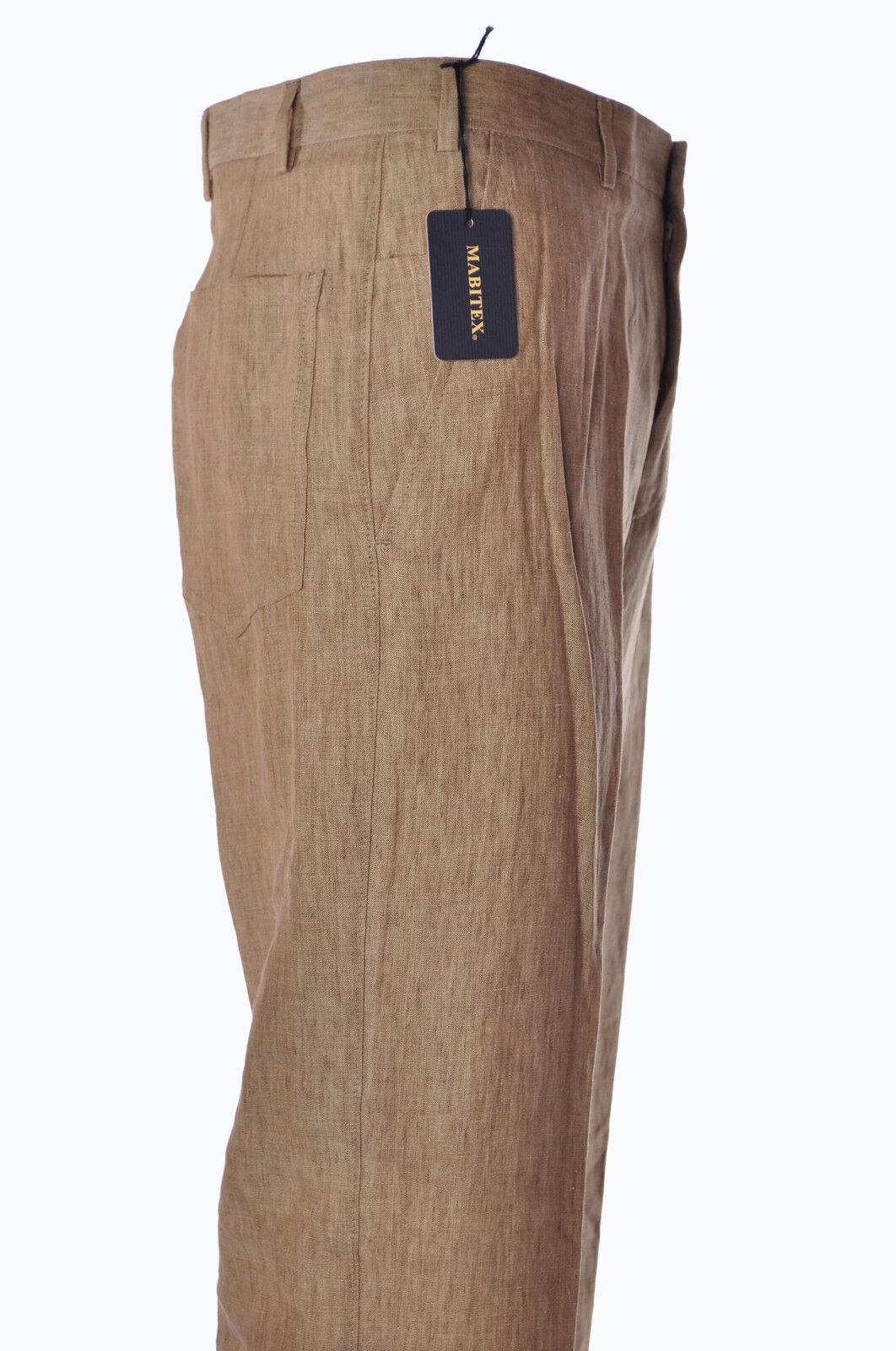 Mabitex  -  Pants - Male - Beige - 2920902A183816