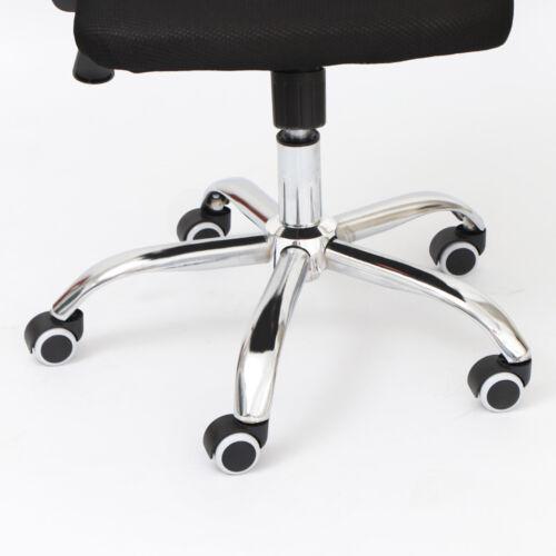 5x Hartbodenrollen 11mm//50mm Parkett Laminat für Schreibtischstuhl Bürostuhl DE