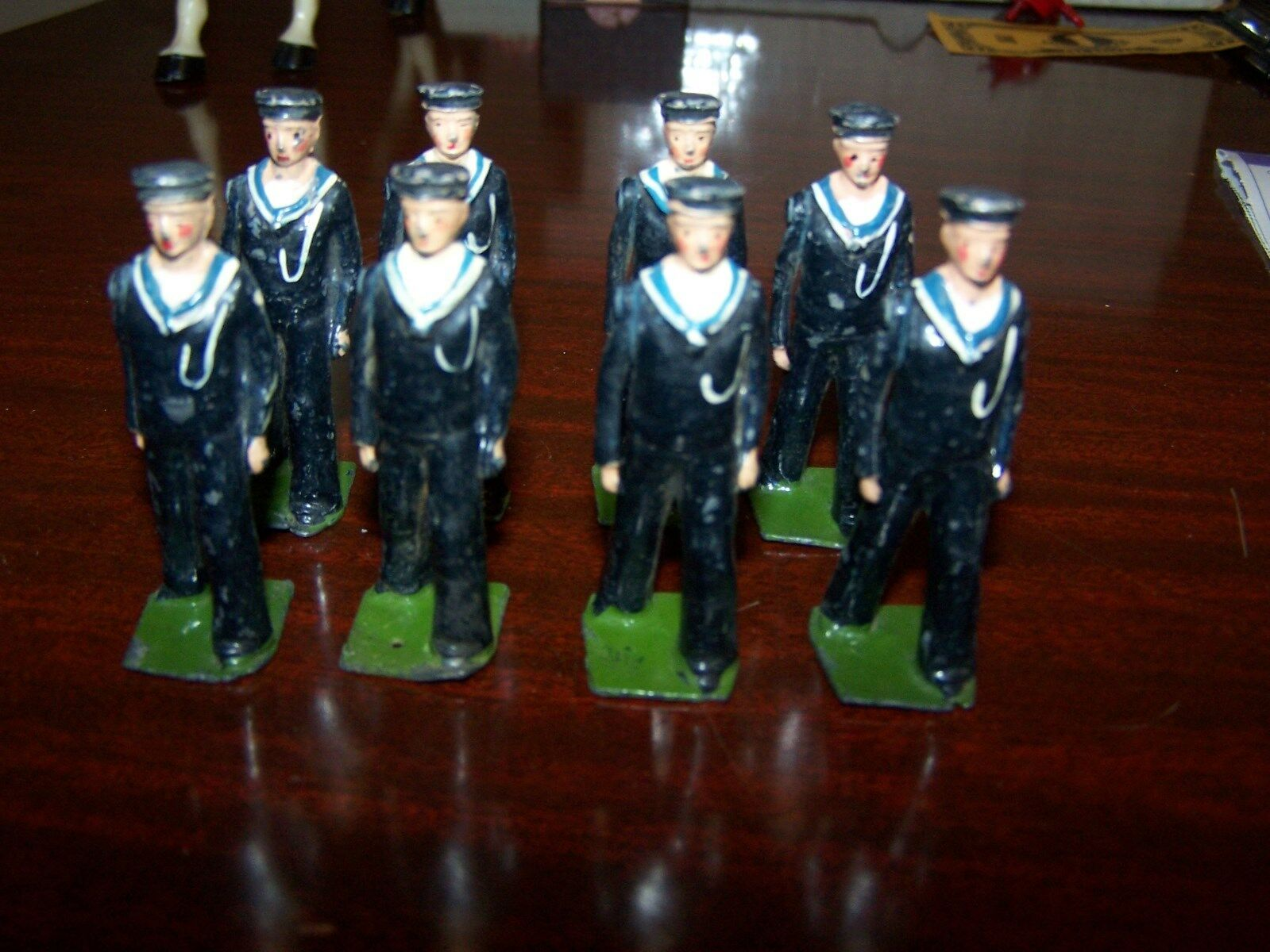 Britains Set 1510 British Sailors Regulation Dress (2 Sets, 8 each) C-6