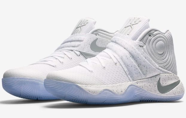 best service 8e8a2 e463e Nike Kyrie 2 White Silver Speckle Basketball Shoes Men Sizes 10.5,11