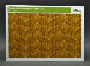 DioDump-DD135-B-Wooden-floor-design-B-1-35-scale-diorama-building-accessories