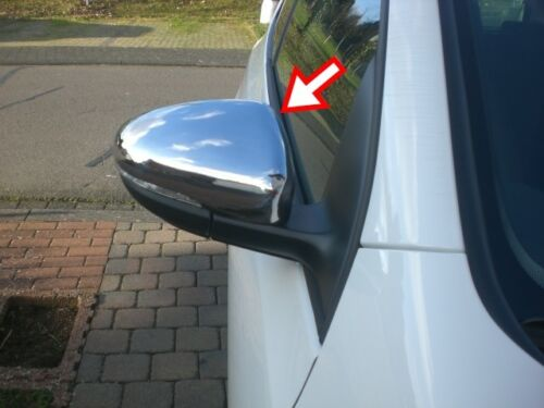 VW Touran MK2 2 II 1T3 2010-2015 Chrome Mirror Cover 2Pcs S.Steel