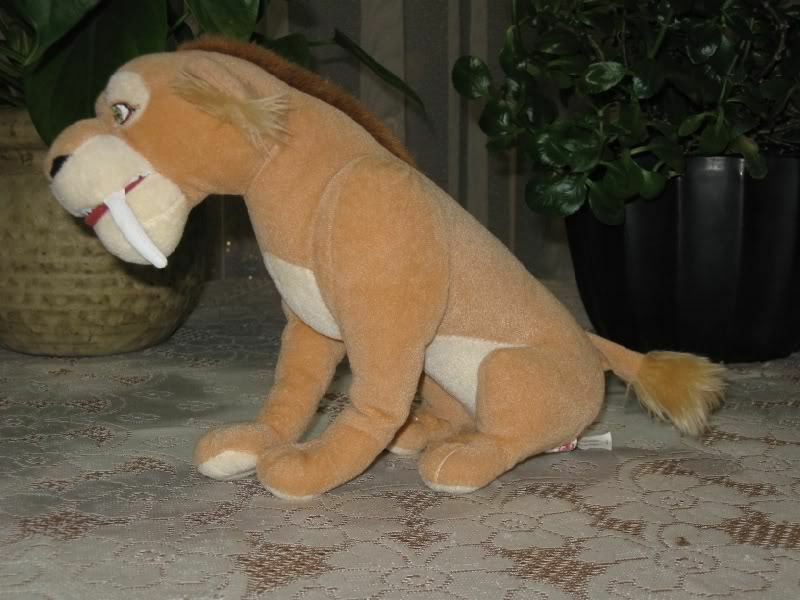 PMS UK Diego Saber Tooth Lion ICE AGE Toy