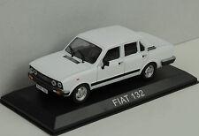Fiat 132 white weiss 1:43 IXO / Ist - Bliester magazine Collection