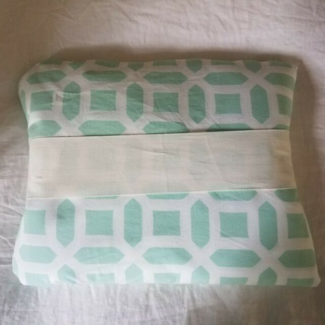 Pottery Barn Pb Teen Full Queen Peyton Pool Aqua Duvet
