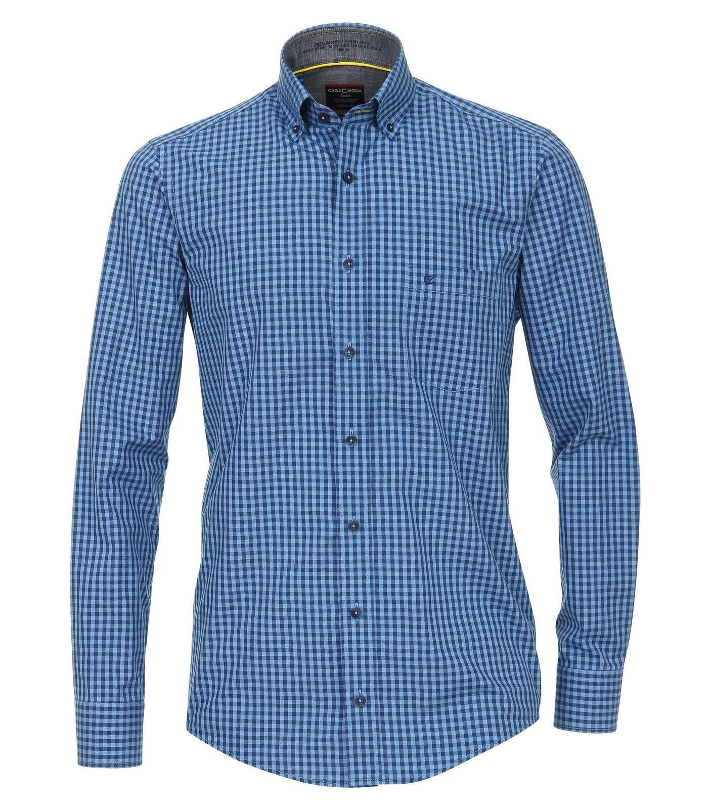 Casa Moda - Casual Fit - Herren Freizeit Hemd mit Button Down-Kragen (482897200A       Um Zuerst Unter ähnlichen Produkten Rang