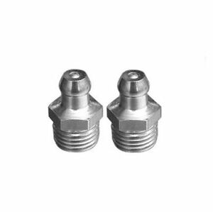 Zerk Grease Fitting >> 2 Pieces Grease Fitting Npt Np Pipe 1 4 18 Zerk Nipple Straight N Cq