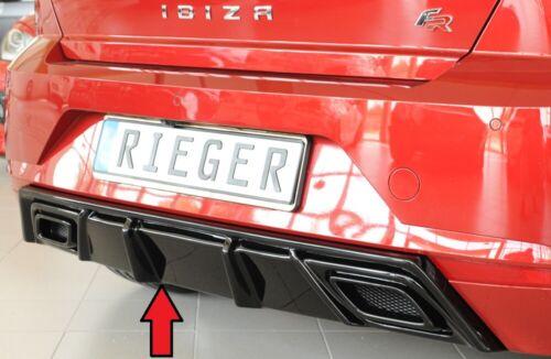 Rieger CUP Diffusor SCHWARZ für Seat Ibiza FR KJ Heck Ansatz Stoßstange ABS