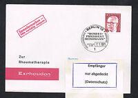 Berlin Michel Nr. 368 FDC Ersttagsbrief Bedarfsbrief (031)