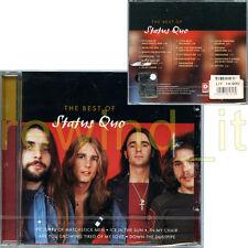 """STATUS QUO """"THE BEST OF STATUS QUO"""" RARE CD 2001 - SEALED"""