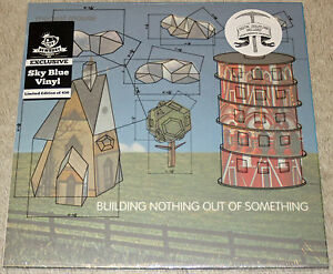 Modest-Mouse-Building-Nothing-Out-Of-Something-Sky-Blue-Vinyl-Newbury-xx-450-OOP