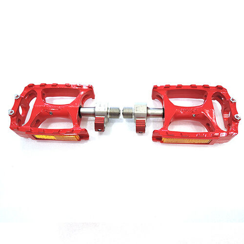 "Red Wellgo QRD-M138 Road Mountain MTB Bike Bicycle 9//16/"" Alloy Pedals"
