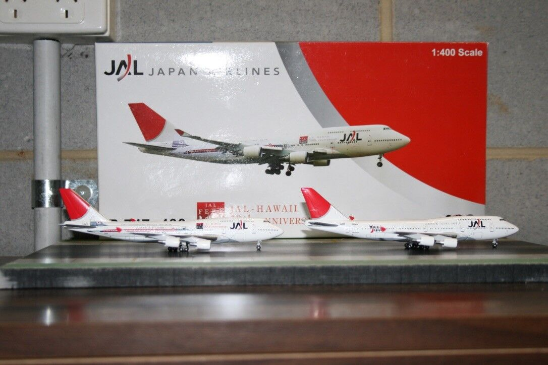 Bigbird Big Bird 1 400 JAL japan Airlines Boeing 747 -400 JA8089 JA8906 2004 -013