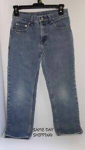 arte squisita numerosi in varietà San Francisco Boys CANYON RIVER BLUES Denim Jeans Zipper Size 12 Regular SHIPS ...