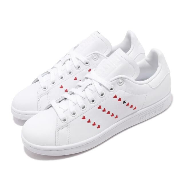adidas Originals Stan Smith Heart Valentines Day Mens Womens Casual Shoes EG5811