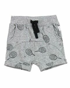 Sizes 2-7 Losan Boys Terry Shorts with Racing Print