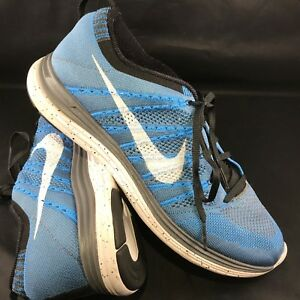 more photos be8c7 10f98 Nike Flyknit Lunar One 1 Men's Running Shoes 11 45 (554887-411) Blue ...