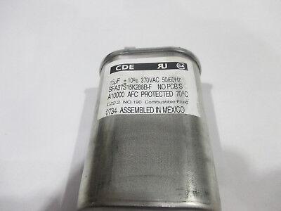 Cornell Dubilier CDE capacitor # SFA37S15K288B-F