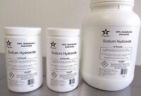 Sodium Hydroxide 98% Pure Microbeads 1 Lb Caustic Soda, Lye Fcc/ Food Grade 7023