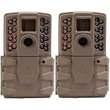 Moultrie A-30 12MP 60' HD Video Low Glow Infrared Game Trail Camera (2 Pack)