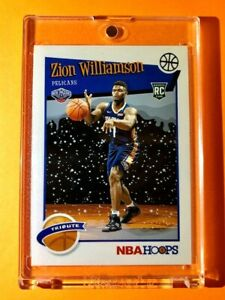 Zion-Williamson-NBA-HOOPS-TRIBUTE-ROOKIE-SPECIAL-WINTER-2019-20-RC-296-Mint