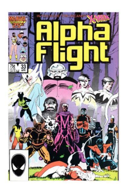 UNREAD Alpha Flight Comic Book #33 Marvel 1st Lady Deathstrike 1986 VERY FINE