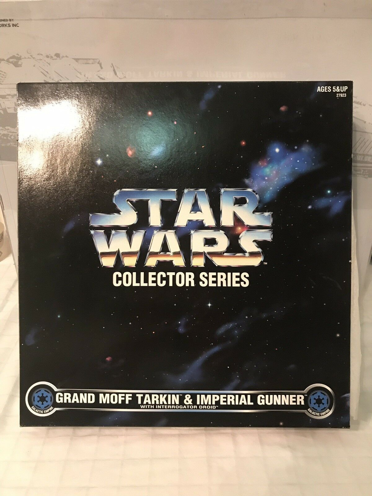 Star Wars Collector Series Grand Moff Tarkin & Imperial Gunner