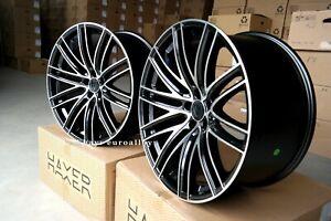 4x21-inch-5x130-Wheels-For-Porsche-Panamera-Black-Concave-Rims-New