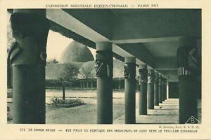 1931 Paris Exposition Coloniale Internationale Congo Belge Belgian Congo