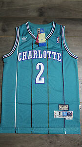 1adfa9ee0 Image is loading Larry-Johnson-2-Charlotte-Hornets-Classic-Vintage-Retro-