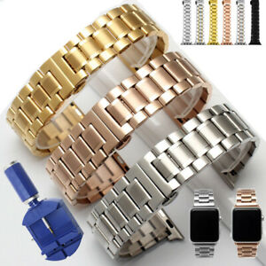 Stainless Steel Watch Band For Apple Watch Series 5 4 3 2 40mm 44mm Iwatch Strap Ebay