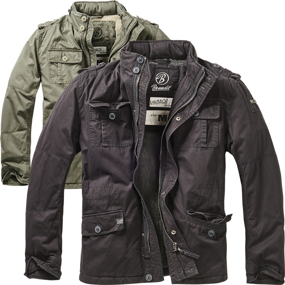 8b0fdae77ed8 Brandit Winter férfi Britannia férfi kabát Army Bundeswehr őszi kabát 38485  Vintage Army