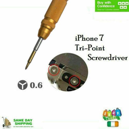0.6mmY Tip Eröffnungsreparaturwerkzeug Tri Point Schraubendreher Für das iPhone7