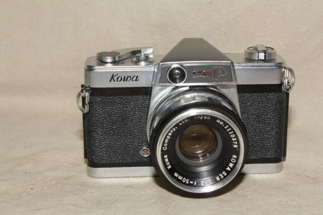KOWA SER 35MM SLR CAMERA FOR PARTS OR REPAIR 8619