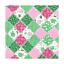 En Polycoton Tissu Floral Pois Patchwork Carrés Peregrine Grove