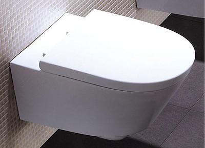 Venedig Wand-Hänge WC/Toilette mit SoftClose Sitz