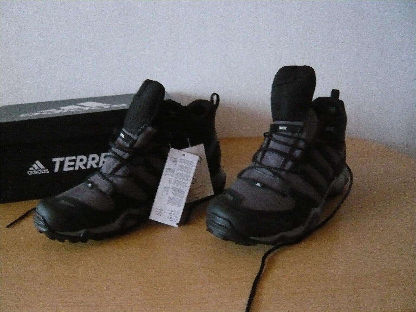 Adidas Terrex Swift R Mid Herren Stiefel Outdoor Schuhe Gr.44 Neu