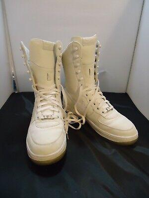 Nike Air Force 1 Womens White High Top Tennis Shoes 315187 111