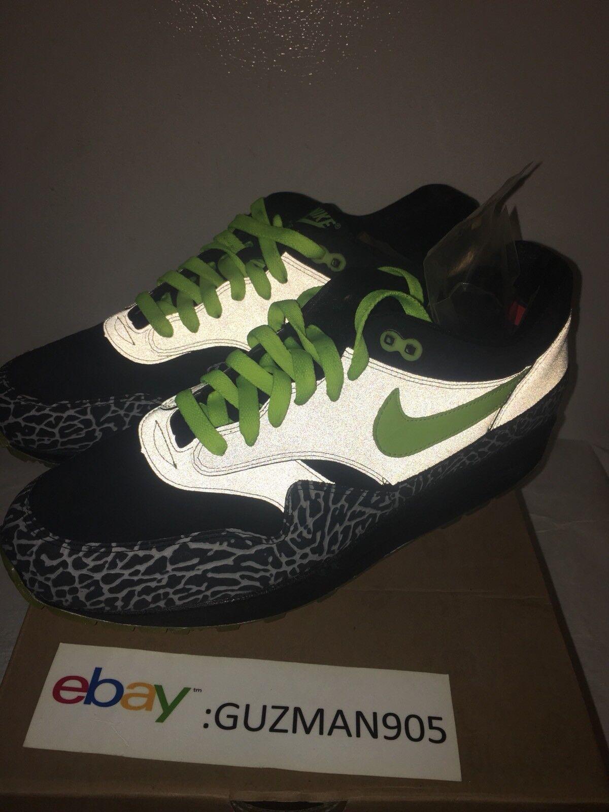 796fb48ddc4d ... 2008 Nike Air Max 1 1 1 Premium Size 9.5 112 DJ Clark Kent Patta Cement  ...