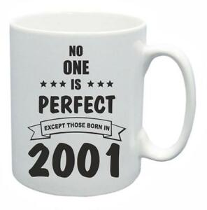 18th-Novelty-Birthday-Gift-Present-Tea-Mug-No-One-Is-Perfect-2001-Coffee-Cup
