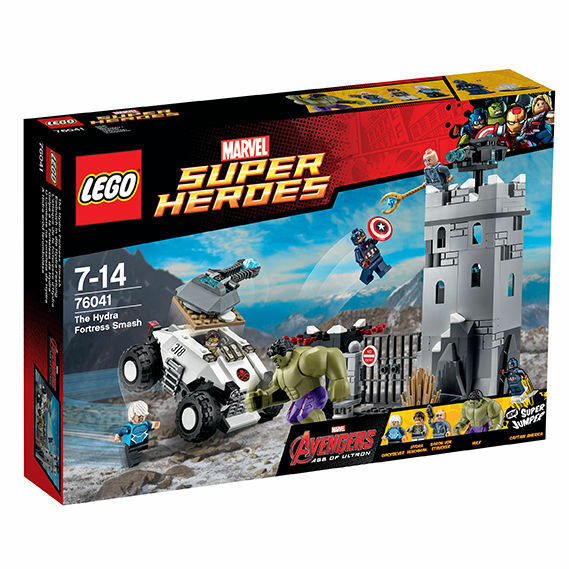 LEGO ® 76041 SUPER HEROES scasso in la Hydra-fortezza NUOVO OVP NEW